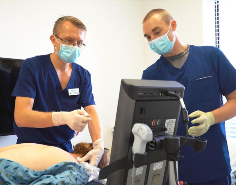 Performing prolotherapy in Estero Florida