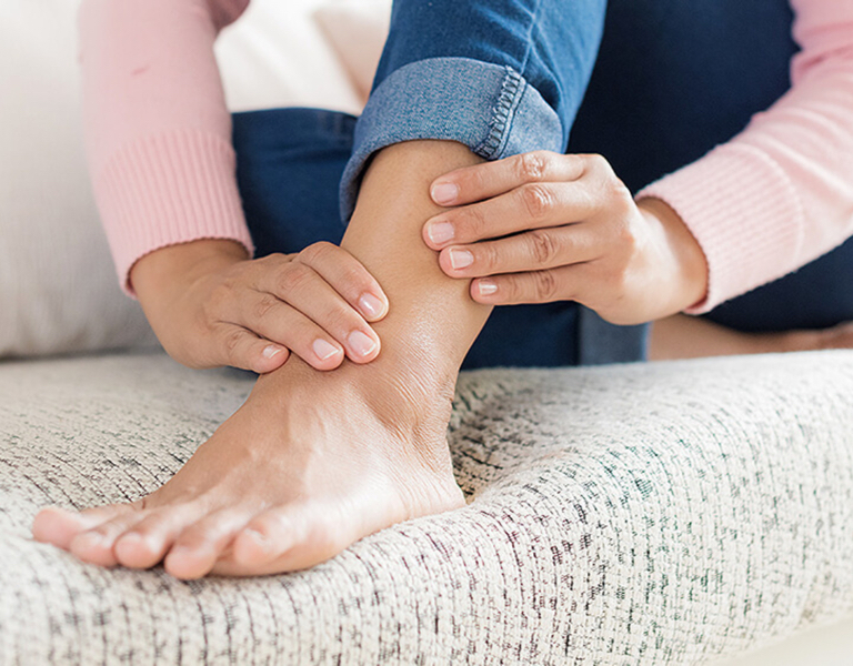 Non surgical ankle pain treatment