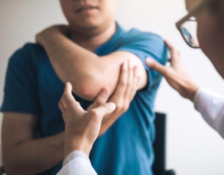 Estero elbow pain